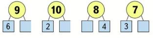 Математика 1 класс учебник Моро 2 часть страница 12 задание 1