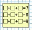 Математика 1 класс учебник Моро 1 часть страница 124 задание на полях