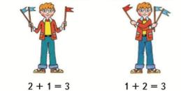 Математика 1 класс учебник Моро 2 часть страница 14 задание