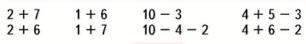 Математика 1 класс учебник Моро 2 часть страница 19 задание 6