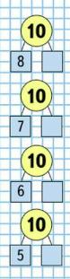Математика 1 класс учебник Моро 2 часть страница 24 задание 13