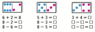 Математика 1 класс учебник Моро 2 часть страница 27 задание 1