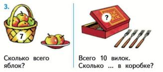 Математика 1 класс учебник Моро 2 часть страница 30 задание 3