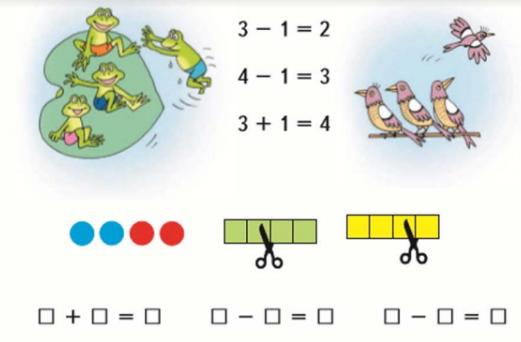 Математика 1 класс учебник Моро 1 часть страница 31 задание 2