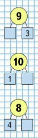 Математика 1 класс учебник Моро 2 часть страница 32 задание 7
