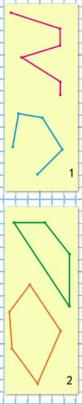 Математика 1 класс учебник Моро 1 часть страница 42 задание на полях