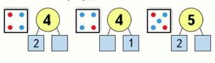 Математика 1 класс учебник Моро 1 часть страница 45 задание 2