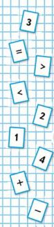 Математика 1 класс учебник Моро 1 часть страница 48 задание на полях