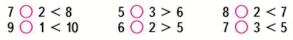 Математика 1 класс учебник Моро 2 часть страница 5 задание 7