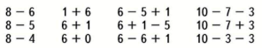 Математика 1 класс учебник Моро 2 часть страница 50 задание 6
