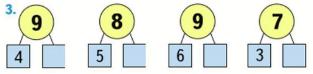 Математика 1 класс учебник Моро 2 часть страница 52 задание 3