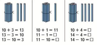 Математика 1 класс учебник Моро 2 часть страница 52 задание