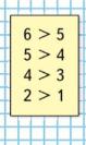 Математика 1 класс учебник Моро 1 часть страница 53 задание на полях