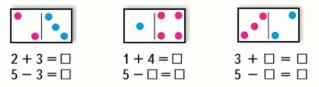 Математика 1 класс учебник Моро 1 часть страница 56 задание 2