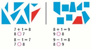 Математика 1 класс учебник Моро 1 часть страница 58 задание 1