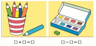 Математика 1 класс учебник Моро 1 часть страница 59 задание 1