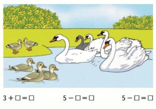 Математика 1 класс учебник Моро 1 часть страница 67 задание 1