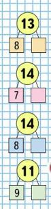 Математика 1 класс учебник Моро 2 часть страница 70 задание 6