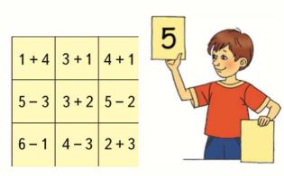 Математика 1 класс учебник Моро 1 часть страница 77 задание 1
