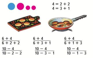 Математика 1 класс учебник Моро 2 часть страница 8 задание 1