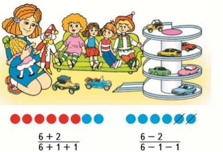 Математика 1 класс учебник Моро 1 часть страница 84 задание