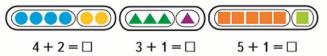 Математика 1 класс учебник Моро 1 часть страница 86 задание 1