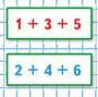 Математика 1 класс учебник Моро 2 часть страница 86 задание 7
