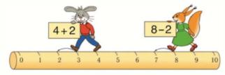 Математика 1 класс учебник Моро 1 часть страница 87 проверь себя и оцени свои успехи