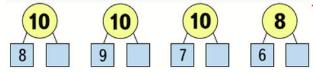 Математика 1 класс учебник Моро 2 часть страница 9 задание 10