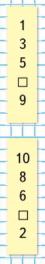 Математика 1 класс учебник Моро 1 часть страница 95 задание на полях