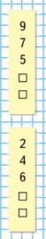 Математика 1 класс учебник Моро 1 часть страница 97 задание на полях