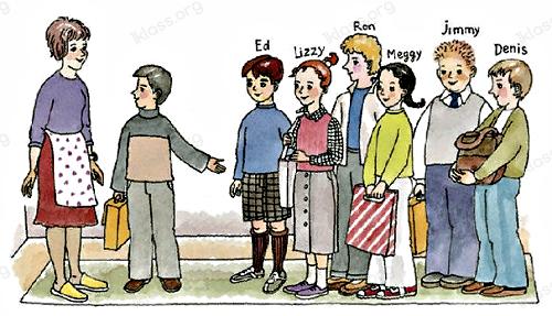 Английский язык 2 класс учебник Афанасьева 1 часть step 11 задние 6