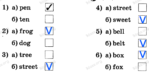 Английский язык 2 класс рабочая тетрадь Афанасьева step 13 - задание 1