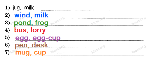 Английский язык 2 класс рабочая тетрадь Афанасьева step 13 - задание 4.1