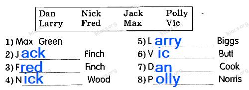 Английский язык 2 класс рабочая тетрадь Афанасьева step 21 - задание 1