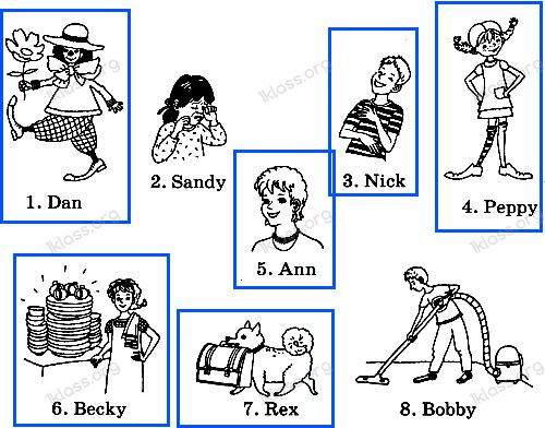 Английский язык 2 класс рабочая тетрадь Афанасьева step 23 - задание 2