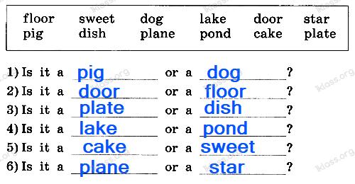 Английский язык 2 класс рабочая тетрадь Афанасьева step 31 - задание 1