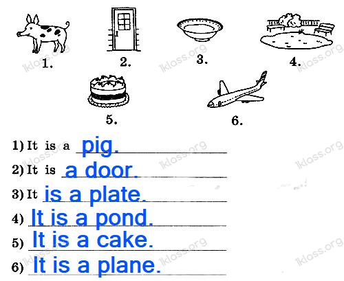 Английский язык 2 класс рабочая тетрадь Афанасьева step 31 - задание 3