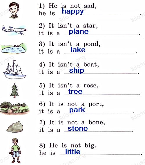 Английский язык 2 класс учебник Афанасьева 2 часть step 34 задание 3