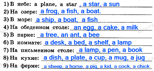 Английский язык 2 класс рабочая тетрадь Афанасьева step 35 - задание 3