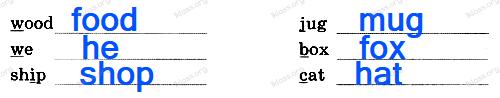 Английский язык 2 класс рабочая тетрадь Афанасьева step 40 - задание 3.2