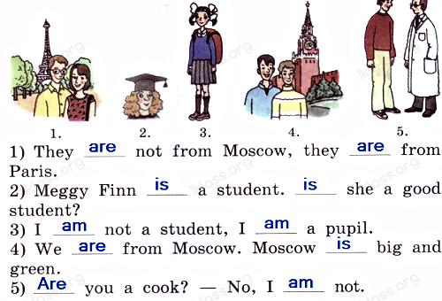 Английский язык 2 класс учебник Афанасьева 2 часть step 41 задание 6