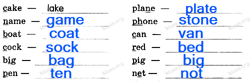 Английский язык 2 класс рабочая тетрадь Афанасьева step 42 - задание 4