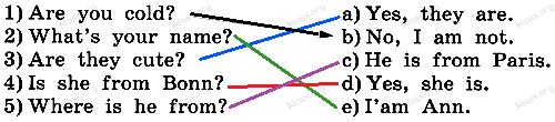 Английский язык 2 класс рабочая тетрадь Афанасьева step 44 - задание 3