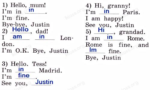 Английский язык 2 класс учебник Афанасьева 2 часть step 45 задание 3