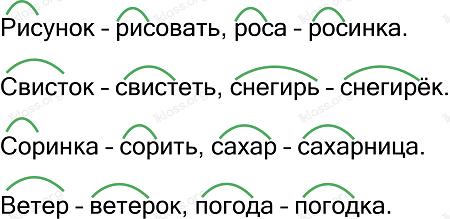 Ответ по Русскому языку 2 класс рабочая тетрадь Канакина 1 часть страница 48 упражнение 103