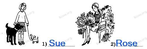 Английский язык 2 класс рабочая тетрадь Афанасьева step 53 - задание 1