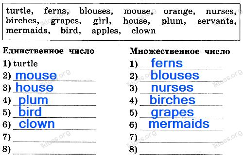 Английский язык 2 класс рабочая тетрадь Афанасьева step 56 - задание 1