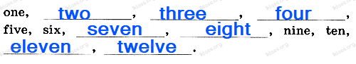 Английский язык 2 класс рабочая тетрадь Афанасьева step 56 - задание 3