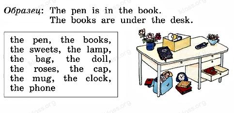 Английский язык 2 класс учебник Афанасьева 2 часть step 57 задание 5